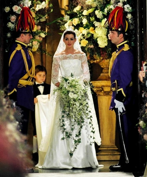 Princess Mia's gown was made in homage to Audrey Hepburn and ...