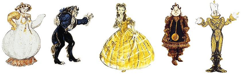 Beauty The Beast From Screen To Stage Thread By Thread Costumes On Screen