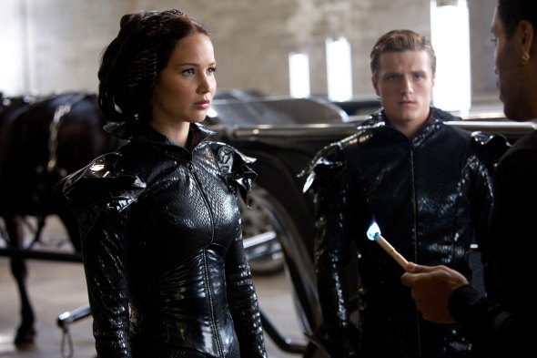 Katniss's Catsuit is edgy yet clearly restricting; it's a costume that unintentionally turns her into a symbol of revolution, when it was simply meant for display.