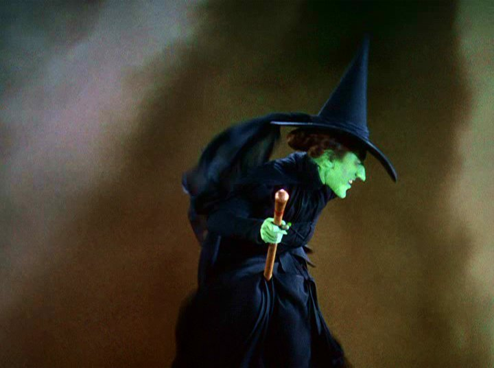 Wicked Witch Of The West Flying On Her Broom Witchy Woman | Thread ...
