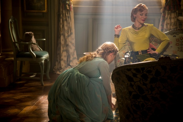 Lady Tremaine also dresses in green to show her jealousy at Cinderella's optimistic disposition despite her hardships.