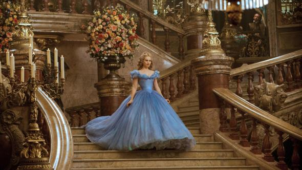 The gown was made from over 270 yards of fabric and nine versions were made for the film.